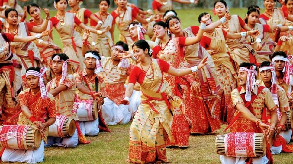 Video: അങ്ങ് ദൂരെ നടന്ന ബിഹു ആഘോഷവും നൃത്തവും!!