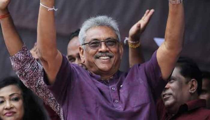 ശ്രീലങ്കന് പ്രസിഡന്റായി ഗോതാബായ രാജപക്സെ!!