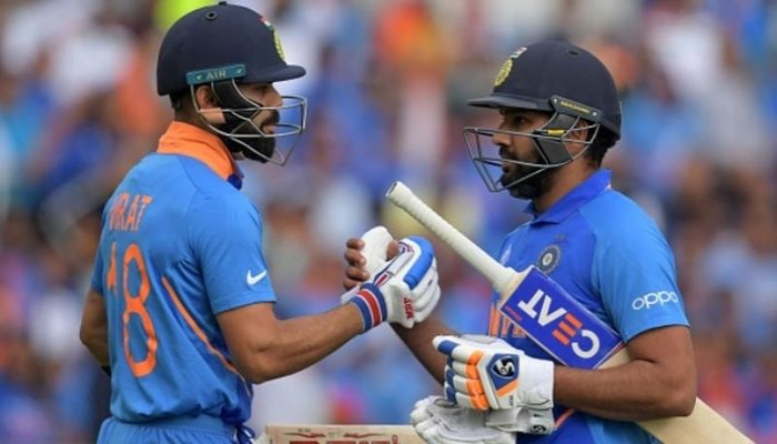 ICC ODI Rankings: ഒന്നും രണ്ടും സ്ഥാനങ്ങൾ പിടിച്ച് കൊഹ്ലിയും രോഹിത്തും