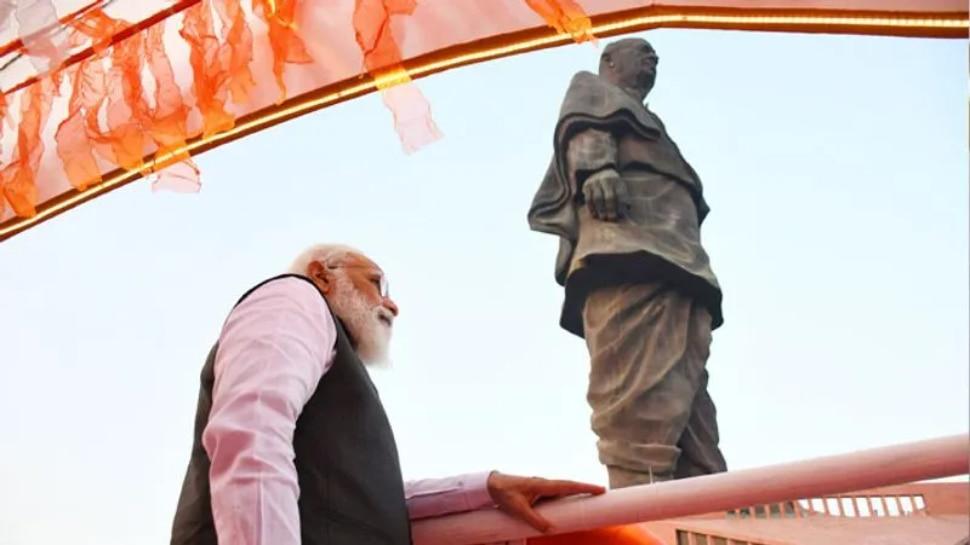 സ്റ്റാച്യു ഓഫ് ലിബർട്ടി സന്ദർശിക്കുന്നതിലും കൂടുതൽ ആളുകൾ ഏകതാ പ്രതിമ കാണാൻ എത്തുന്നു: PM Modi