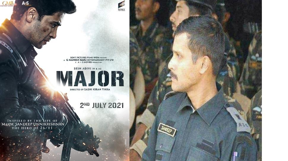 Major Sandeep Unnikrishnan Film: മേജർ ജൂലൈയിൽ റിലീസിന്