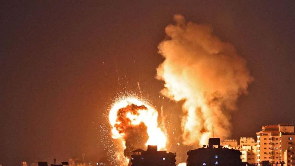 Israel-Palestine Conflict: ഹമാസിന്റെ ബോംബ് ആക്രമണത്തിന് മറുപടിയായി ഗാസയിലെ ഹമാസ് കേന്ദ്രങ്ങളിൽ വ്യോമാക്രമണം നടത്തി ഇസ്രയേൽ
