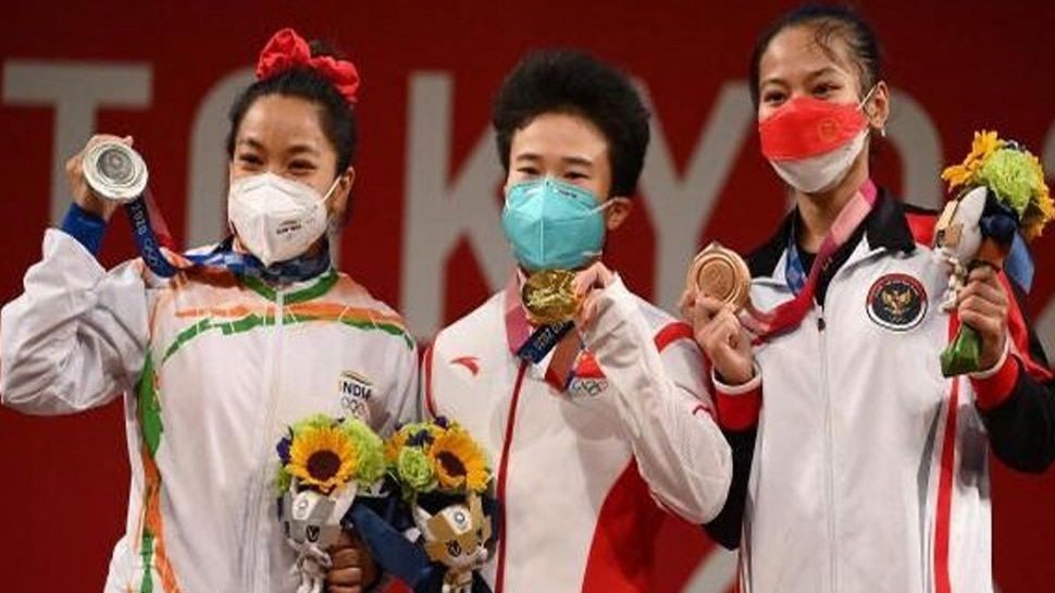 Tokyo Olympics 2020 : Mirabai Chanu ന്റെ വെള്ളിനേട്ടം സ്വർണമാകാൻ സാധ്യത, ചൈനീസ് താരം ഉത്തേജക മരുന്ന് ഉപയോഗിച്ചതായി സംശയം