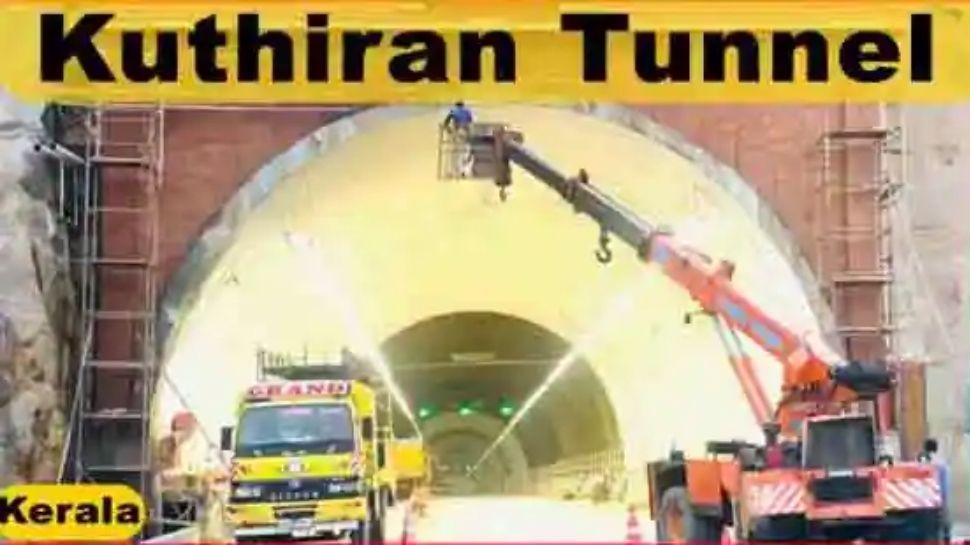 Kuthiran Tunnel:കുതിരാൻ തുരങ്കം തുറന്നു,അറിയിച്ചില്ലെന്ന് കേരളം