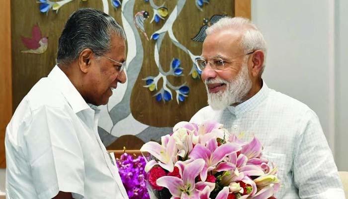 """PM Modi turns 71 today: """"രാജ്യത്തെ സേവിക്കാൻ ദീർഘായുസുണ്ടാവട്ടേ"""", പ്രധാനമന്ത്രിക്ക് പിറന്നാൾ ആശംസകള് നേര്ന്ന് മുഖ്യമന്ത്രി  പിണറായി വിജയൻ"""