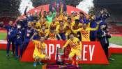Copa Del Rey 2021 : ലയണൽ മെസിയുടെ ഇരട്ട ഗോളിന്റെ തിളക്കത്തിൽ ബാഴ്സലോണയ്ക്ക് 31-ാം സ്പാനിഷ് കിങ്സ് കപ്പ്