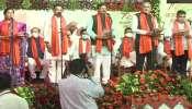 Gujarat Cabinet: ഗുജറാത്തിൽ പുതിയ മന്ത്രിസഭ അധികാരമേറ്റു; വിജയ് രൂപാണി മന്ത്രിസഭയിലെ എല്ലാ മന്ത്രിമാരെയും ഒഴിവാക്കി