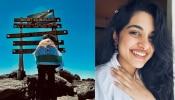 Nivetha Thomas : കിളിമഞ്ചാരോ കീഴടക്കി നടി നിവേദ തോമസ്