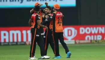 IPL 2020: പഞ്ചാബിനെ 69 റണ്സിന് പരാജയപ്പെടുത്തി  Sunrisers Hyderabad