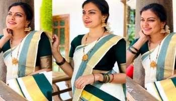 Traditional look ൽ Anusree, ചിത്രങ്ങൾ വൈറലാകുന്നു...