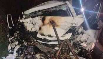 Kallambalam Accident: മിനിലോറിയും കാറും കൂട്ടിയിടിച്ച് 5 മരണം