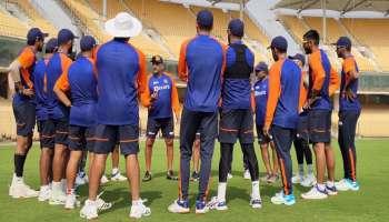 India vs England Practice Session: ഇംഗ്ലണ്ടിനെതിരെയുള്ള അങ്കത്തിന് കോലിപടയുടെ കച്ചകെട്ടൽ ആരംഭിച്ചു