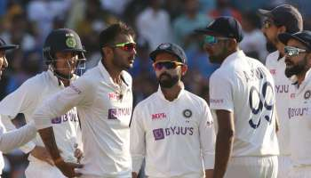 India England Pink Test : Axar Patel ഇംഗ്ലണ്ടിനെ എറിഞ്ഞിട്ടു Rohit Sharma യിൽ പിടിച്ച് നിൽക്കാൻ ശ്രമിച്ച് ഇന്ത്യൻ ബാറ്റിങ് നിര