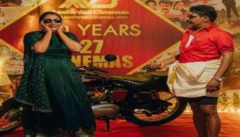 ആടുതോമ ഗെറ്റപ്പിൽ Antony Perumbavoor, ഒപ്പം അടിപൊളി ലുക്കിൽ ഭാര്യയും