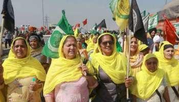 International Women's Day ആയ ഇന്ന് Farmers Protest ൽ പതിനായിരത്തിലധികം മഹിളകൾ പങ്കെടുക്കും
