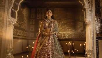 Manish Malhotra യുടെ പുതിയ വിവാഹ വസ്ത്രത്തിൽ അതിസുന്ദരിയായ മണവാട്ടിയായി Sara Ali Khan