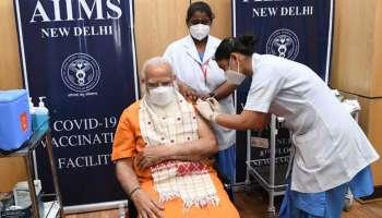 Covid Vaccination: വാക്സിന്റെ രണ്ടാം ഡോസ് സ്വീകരിച്ച് PM Modi