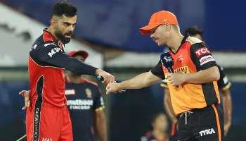 IPL 2021 RCB vs SRH : വിജയം തുടരാൻ ആർസിബിയും വിജയം കണ്ടെത്താൻ ഹൈദരാബാദും, ഐപിഎല്ലിൽ ഇന്ന് റോയൽ ചലഞ്ചേഴ്സ് ബാംഗ്ലുളൂരും സൺറൈസേഴ്സ് ഹൈദരാബാദും തമ്മിൽ ഏറ്റുമുട്ടും
