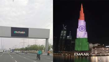 Stay Strong India- ഇന്ത്യക്ക് പൂർണ പിന്തുണയുമായി ദുബായ്