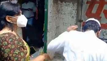Lockdown ഇടയിൽ കട തുറന്നതിന് യുവാവിന് അഡീഷ്ണൽ ജില്ല മജിസ്ട്രേറ്റിന്റെ മർദനം [Video]