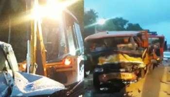 Kayamkulam Accident: കായംകുളത്ത് കാറും ലോറിയും കൂട്ടിയിടിച്ച് നാല് മരണം