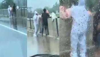 Shocking Video: യുപിയിൽ കൊവിഡ് രോഗിയുടെ മൃതദേഹം പാലത്തിൽ നിന്നും നദിയിലേക്ക് എറിഞ്ഞു