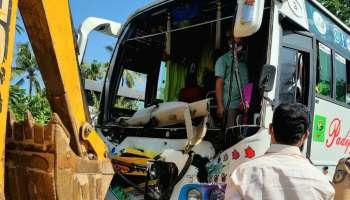 Accident : കഴകൂട്ടം ബൈപാസിൽ ടെക്നോപാർക്കിനടുത്ത് വാഹനാപകടം ; ആളപായമില്ല