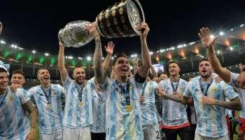 Copa America 2021 Final : 28 വർഷത്തിന് ശേഷം കോപ്പ അമേരിക്ക അർജന്റീനയിലേക്ക്, രാജ്യത്തിന് വേണ്ടി മെസിയുടെ ആദ്യ കപ്പ് നേട്ടം