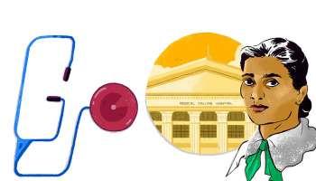 Kadambini Ganguly, ഇന്ത്യയിലെ ആദ്യ വനിതാ ഡോക്ടർമാരിൽ ഒരാൾ, കഡംബിനി ഗാംഗുലിക്ക് ആദരവ് നൽകി Google