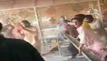 Mob attacks temple: പാകിസ്ഥാനിൽ ആൾക്കൂട്ടം ക്ഷേത്രം ആക്രമിച്ചു; വിഗ്രഹങ്ങൾ തകർത്തു