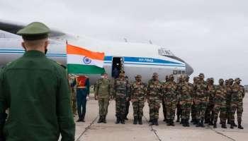 International Army Games 2021:റഷ്യയിൽ നടക്കുന്ന അന്താരാഷ്ട്ര സൈനീക ഗെയിംസിൽ പങ്കെടുക്കാനെത്തിയ ഇന്ത്യൻ സേന