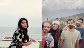 Vismaya Mohanlal |Pranav Mohanlal: പ്രണവും വിസ്മയയും യാത്രയിലാണ്, മല താണ്ടി, കടൽ താണ്ടി ദൂരെ ദൂരെ