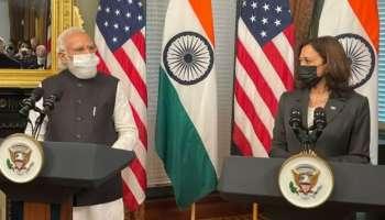 PM Modi US Visit: കമലാ ഹാരിസുമായി കൂടിക്കാഴ്ച നടത്തി മോദി; ഇന്ത്യ അമേരിക്കയുടെ പ്രധാന പങ്കാളി
