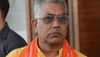 Bhabanipur: ബിജെപി ദേശീയ വൈസ് പ്രസിഡന്റ് ദിലീപ് ഘോഷിന് നേരെ ആക്രമണം