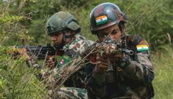 India Nepal joint military exercise  ഇന്തോ-നേപ്പാൾ സംയുക്ത സൈനീക അഭ്യാസം, ചിത്രങ്ങൾ