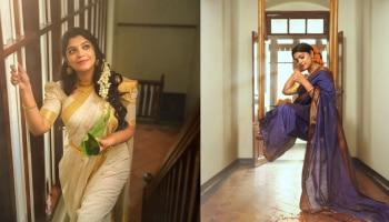 Aparna Balamurali: അപർണ സൂപ്പറാ! തമിഴ് ലുക്കിൽ സുന്ദരിയായി അപർണ ബാലമുരളി