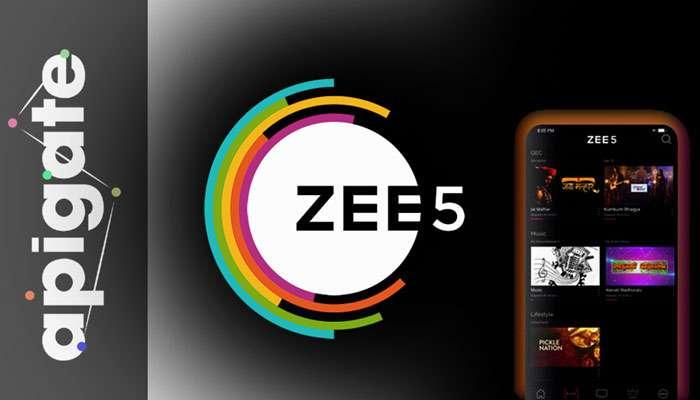 അപിഗേറ്റുമായി കൈകോര്ത്ത് ZEE5 !!