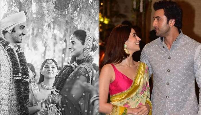 രണ്ബീര്-ആലിയ 'വിവാഹ ചിത്രം' വൈറല്!!