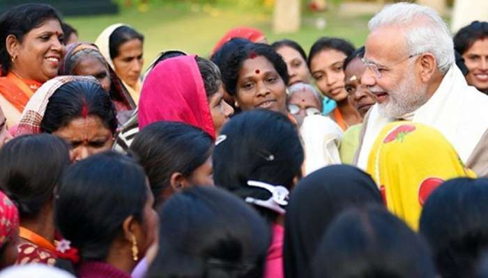 International Women's Day: മോദിയുടെ സോഷ്യല് മീഡിയ അക്കൗണ്ടുകള് ഇന്ന് സ്ത്രീകള്ക്ക്!