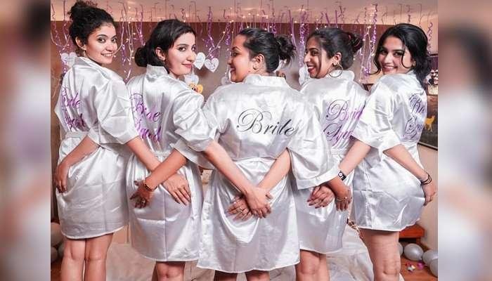 See Pics: സുഹൃത്തിന്റെ ബ്രൈഡ് ഷവര് ആഘോഷമാക്കി 'ബേബിമോളും' കൂട്ടുകാരും!!
